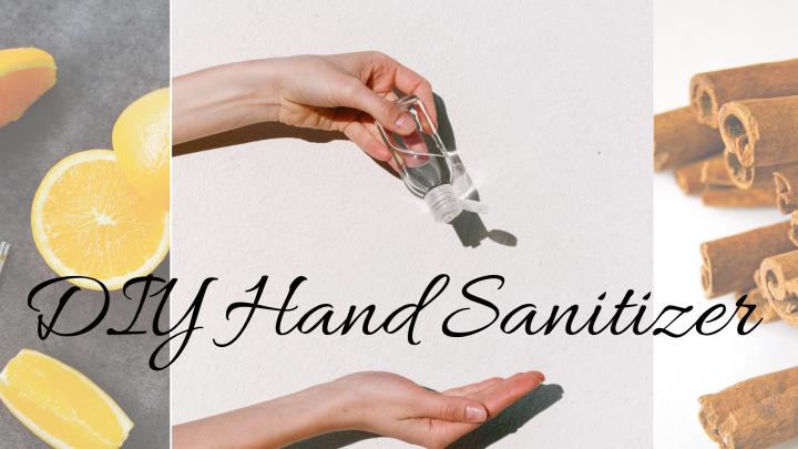 Easy DIY HandSanitizer